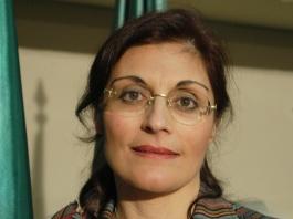Rita Blasioli Costa, em foto de 2004, logo após ser eleita presidente do Comites de São Paulo.